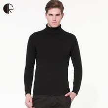 Sweater Men 2016 Autunm/Spring Brand Men's High necked Sweater Hedging Long Sleeve Male Knit Bottoming Turtle Neck pullover
