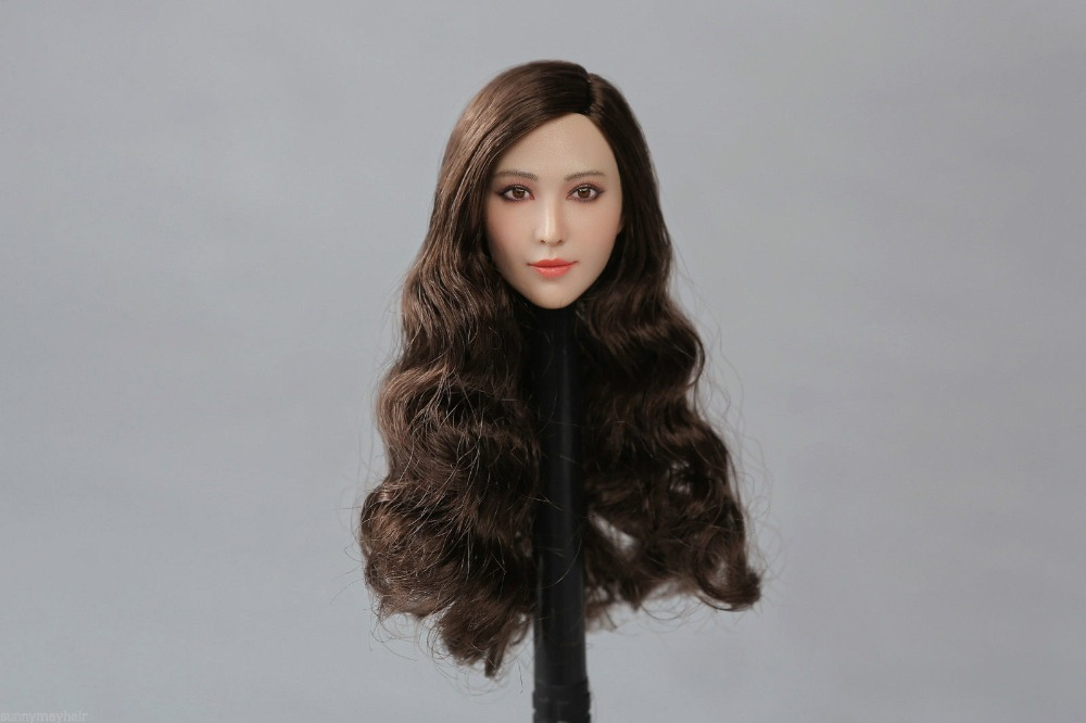 "PEAKTOYS 1/6 Female Bingbing Fan Head Model PT003 Fit F 12"" Phincen Action Figures"