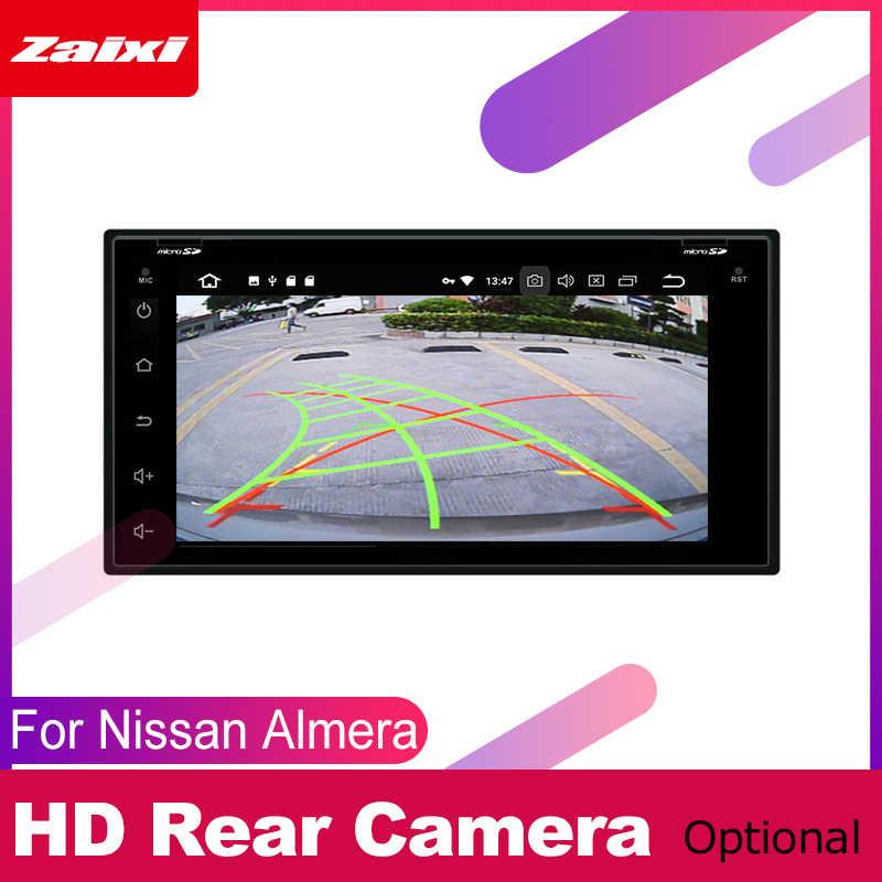 ZaiXi Nissan Almera için Latio güneşli Versa 2011 ~ 2019 araba Android multimedya sistemi 2 DIN oto DVD OYNATICI GPS Navi navigasyon