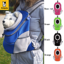 New Pet Backpack Dog Bags Dog Carrier Pet Dog Front Bag Puppy Dog Portable Travel Bag Mesh Backpack Head out Double Shoulder Bag