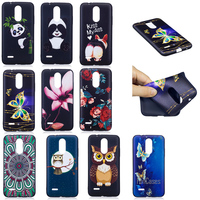 New Top Quality HD Relief Soft TPU Phone Case For LG K8 2017 Version Mandala Case