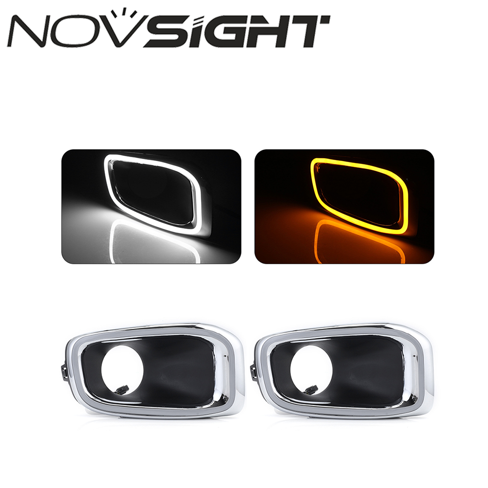 High Quality Daytime Running Light Exact Fit Switchback LED DRL Lights W Turn Signals For Jeep