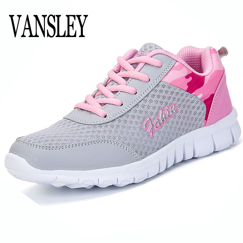 Women Casual Shoes 2017 New Arrival Women's Flat Fashion Air Mesh Summer Spring Lady Shoes Female Lace-up 35-40 Brand Shoes mwy women breathable casual shoes new women s soft soles flat shoes fashion air mesh summer shoes female tenis feminino sneakers