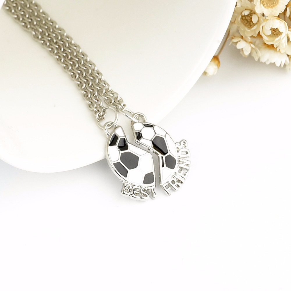 img diamond for clasp pearl football necklace