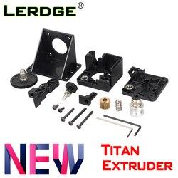 A impressora de lerdge 3d parte a extrusora do titã para e3d v6 bowden j-cabeça suporte de montagem 1.75mm filamento v6 hotend totalmente kits acessories