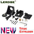 LERDGE 3D printer onderdelen titan Extruder voor e3d v6 bowden J-head Montage Beugel 1.75mm Filament V6 Hotend volledig Kits Acessories