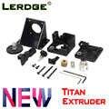 LERDGE 3D printer parts wytłaczarka titan do e3d v6 bowden uchwyt montażowy j-head 1.75mm Filament V6 Hotend w pełni zestawy akcesoria