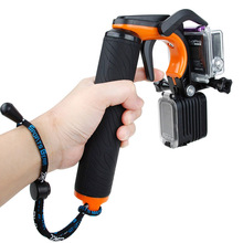 AIYINGE Camera Shutter Trigger Pistol Style Floating Handle Stabilizer For Gopro Hero 4 3+ 3 Accessories 2 in 1 Set