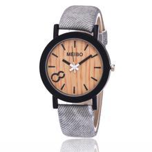 Quartz wrist watches  alloy watch women round