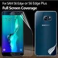 Передний Задний Полный Обложка Протектор Экрана для Samsung Galaxy S6 Edge или Плюс Покрытие Изогнутой Части Защитная Пленка для S6Edge 2F 2B