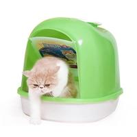 Практичный кошачий Туалет стикер песчаный наполнитель для туалета домашних животных горшок для щенка для собак, песочного цвета кошек чист