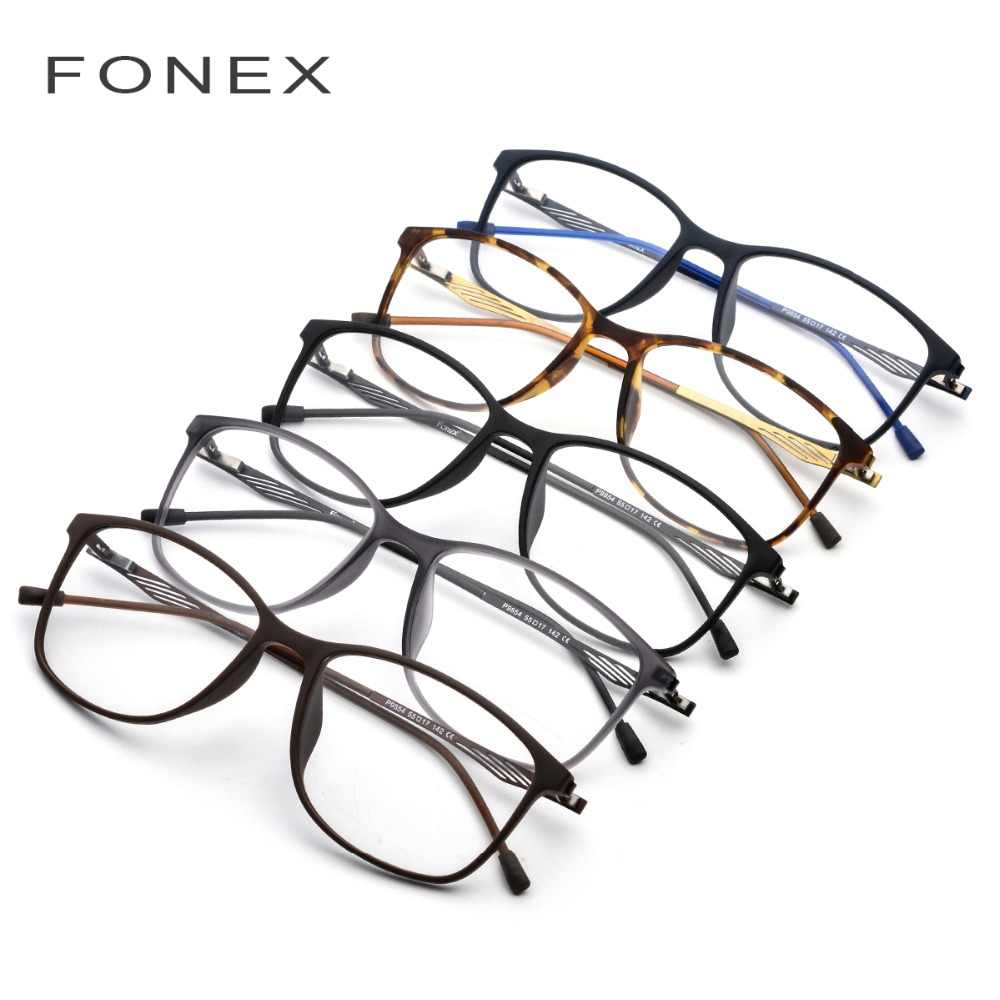 4cd01a9f8a6 ... TR90 Titanium Optical Glasses Frame Men 2018 New Full Square Myopia Eye  Glass Prescription Eyeglasses Korean ...