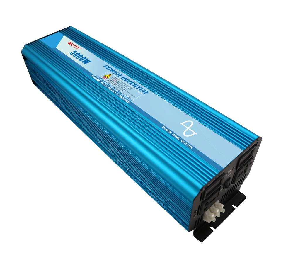 цена на belttt pure sine wave inverter 24V dc to 220v 230v ac 5000w peak 10000w off gird inverter with LCD display ture sine wave