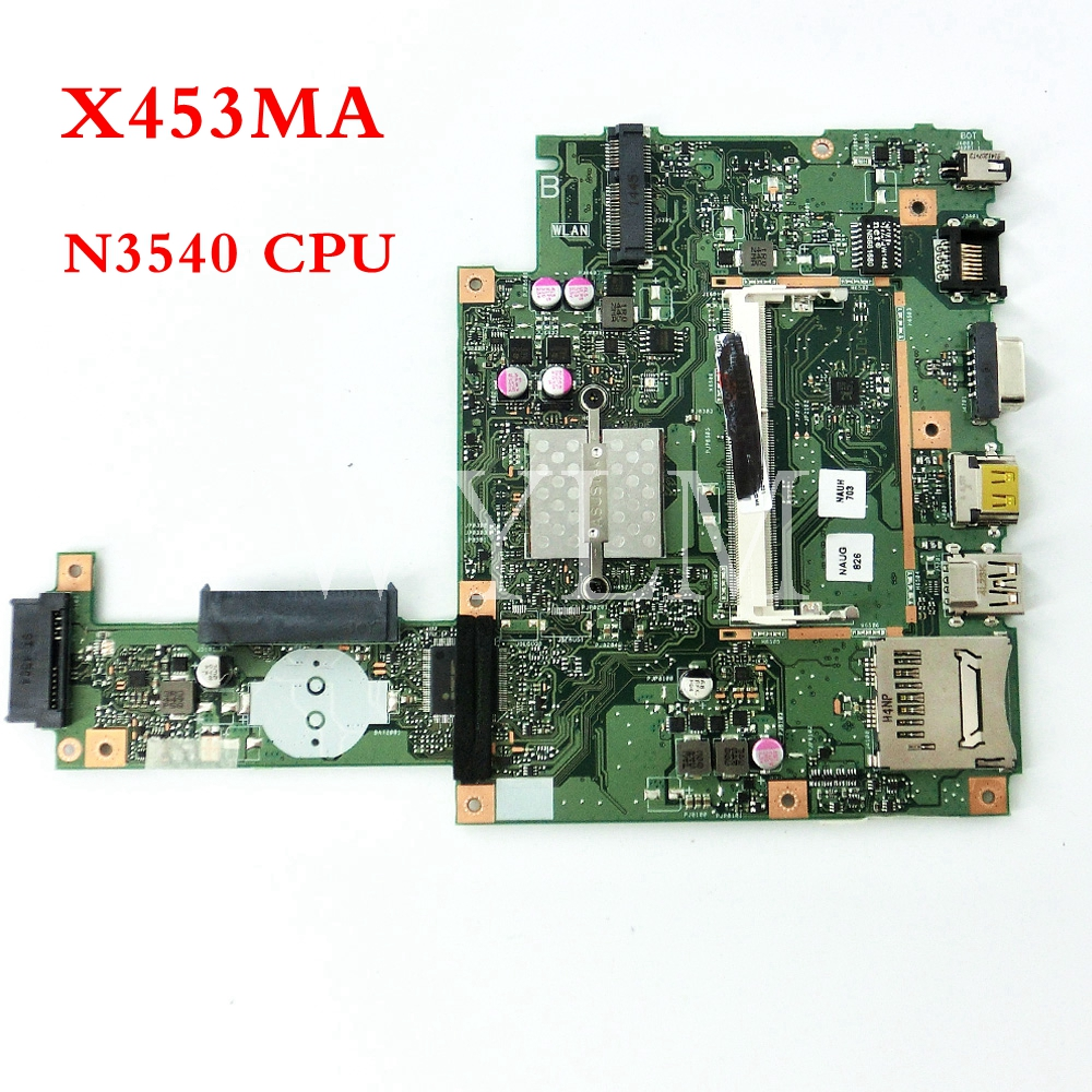 X453MA With N3540CPU mainboard REV2.0 For ASUS F453MA X403MA D403M F403M X403M Laptop motherboard Tested Working free shipping