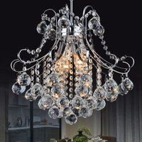 Luxury Crystal Living Room Lamp lustres de cristal indoor Light Crystal Pendants light kitchen bedroom lamp ZDD0080