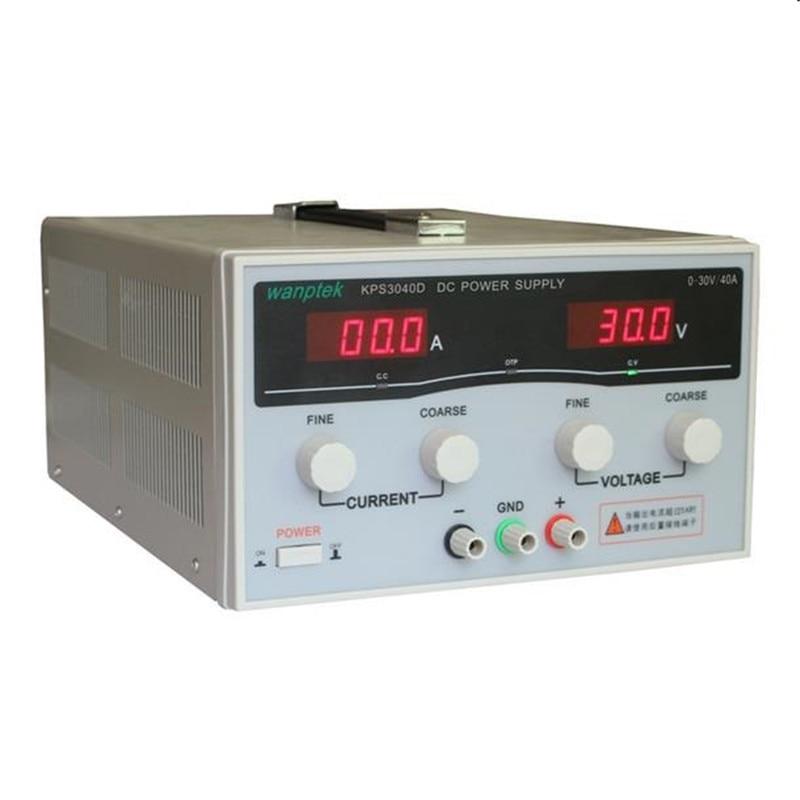 220 V KPS3040D High Power Switching Power Supply 30 V/40A Alimentatore Regolabile 1200 W Regolabile A Doppio LED Display