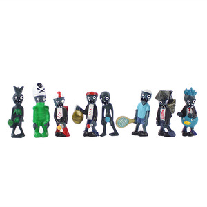 Image 3 - 14 styles Plants vs Zombies PVZ Toy Plants Zombies PVC Action Figures Toy Doll Set for Collection Party Decoration