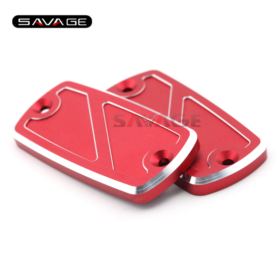 For HONDA VFR 800F/800X VFR800F VFR800X 2001-2015 Motorcycle Front Brake Clutch Master Cylinder Fluid Reservoir Cover Cap R for honda cb1000 cb1100 cb1300 cbf1000 motorcycle front brake clutch master cylinder fluid reservoir cover cap