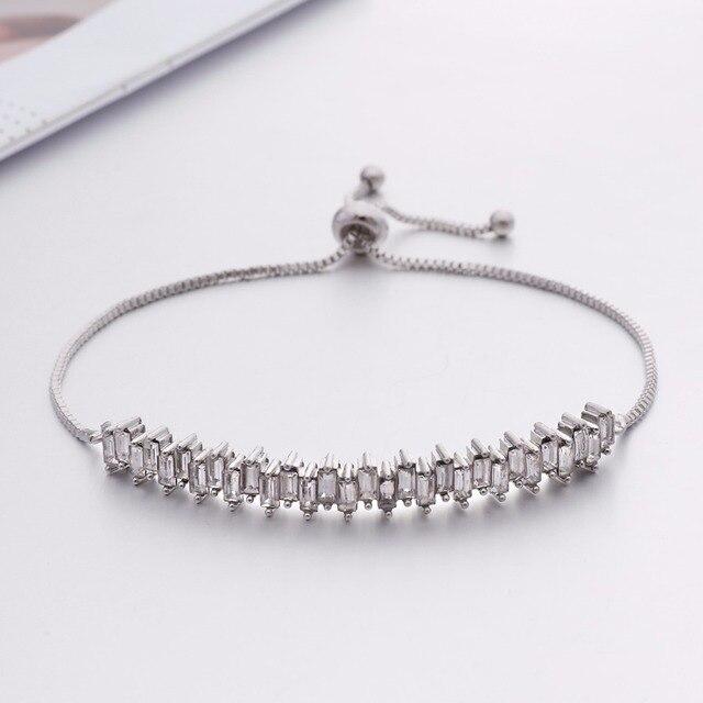 Sale 1PC Fashion Hot Sale Popular Bracelet For Women Crystal Shine Wedding  Bridal Gift 2018 New 6307520822a1