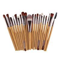 2017 New 20 Pcs Makeup Brush Set Tools Make Up Kit Wool Make Up Brush Set