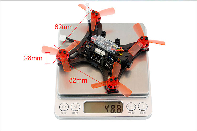 RC Aircraft ARF Kingkong 90GT 90 Brushless Micro FPV Racing Quadcopter Drone F3 Flight Controll 800TVL VTX 3A ESC Tiny Whoop