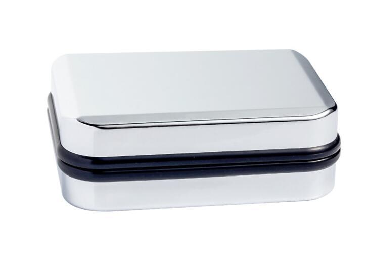 24 개/몫 품질 실버 도금 커 프 스 단추 상자 85x65x30mm 보석 상자 커 프 스 단추 스토리지 홀더 선물 상자 도매-에서보석 포장 & 디스플레이부터 쥬얼리 및 액세서리 의  그룹 1
