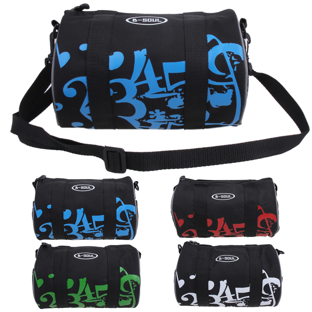 B-Soul Bicycle Bag Front Bike Basket Tube Pannier Frame Cycling Handlebar Bags Front Bag Outdoors Bicycle Accessories roswheel bike front tube bag waterproof bicycle handlebar basket pack cycling front frame pannier bicycle accessories