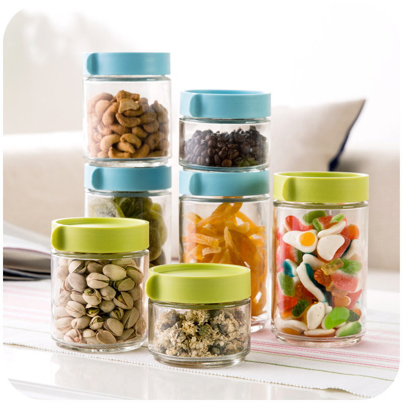 Aliexpress.com : Buy Modular Stackable Glass Bottles Sealed Cans, Nuts  Whole Grains Seal Preservation Tank 600ml From Reliable Sealed Fish Tank  Suppliers On ...