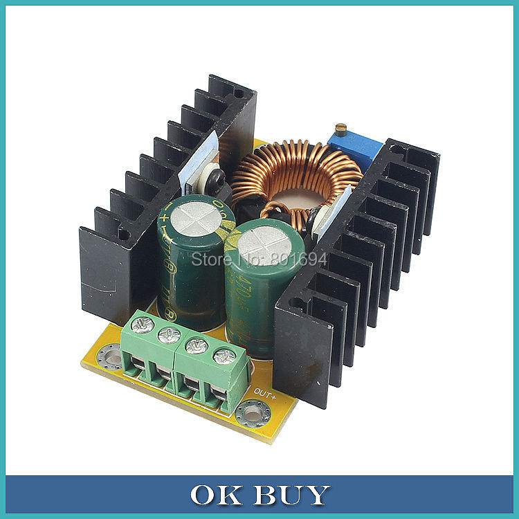 DC-DC Boost Converter 10V-32V 12V 19V To 24V 36V-60V 5A Voltage Step Up 120W Power Supply Board