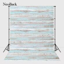 Neoback 5x7ft виниловая ткань печатных деревянные стены этаж фотографии фоны фотостудия фон дети фото фон A2445