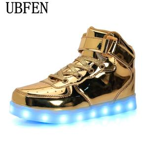 88f13ac279893d UBFEN shoes for adults casual shoes with led men light male