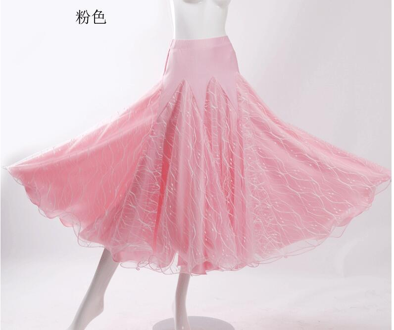 Costume de danse Flamenco jupe longue salle de bal danse moderne Standard valse danseuse robe espagne rose rouge orange bleu