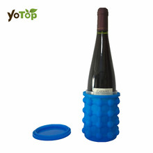 YOTOP Ice Cube Maker Genie Silikon Ice Bucket Ice Genie Cubes Machine Refillable Bottles Köksredskap Drop Shipping