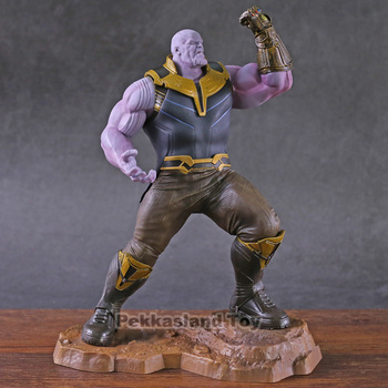 Marvel Avengers Infinity War Thanos Artfx+ Statue 1/10 Scale Pre-pained Thanos Avengers Endgame Figure Collectible Model Toy фото