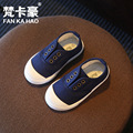 canvas children' s shoes wholesale candy color boys and girls baby shoes special running amount