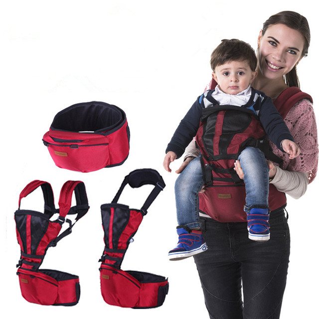 4e7a66a4601 Jerrybaby 3 In 1 Multifunctional Baby Hipseat Slings Backpack Carriers  Breathable Ergonomic Kangoroos Carrying for Children