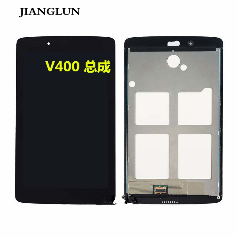 JIANGLUN New LCD Display Screen Touch Digitizer Glass Assembly For LG G Tablet Pad 7.0 V400 V410 lcd display for lg k10 f670 f670l f670s f670k lcd display touch digitizer screen glass assembly new golden in stock