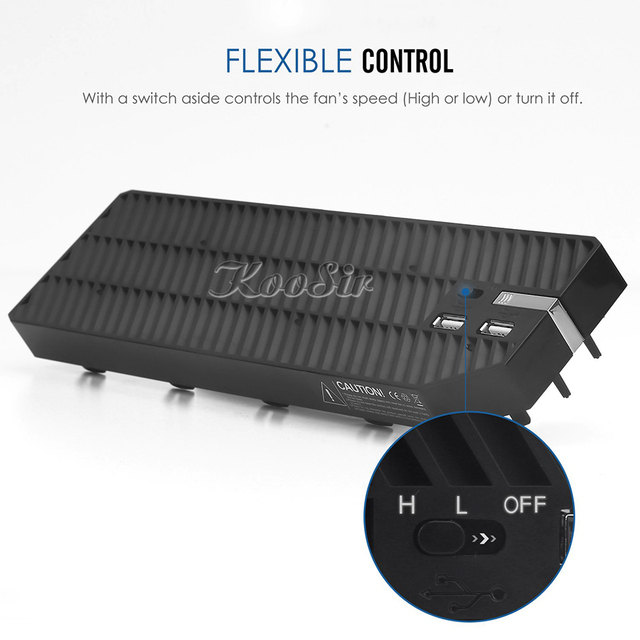 External Cooling Fan for the Xbox One
