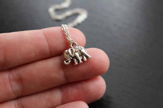Btuamb Boemia Do Vintage Animais Elefantes Colar Clavícula Cadeia de Jóias Collier Étnica Tribal Colares Pingentes para Mulheres Colar