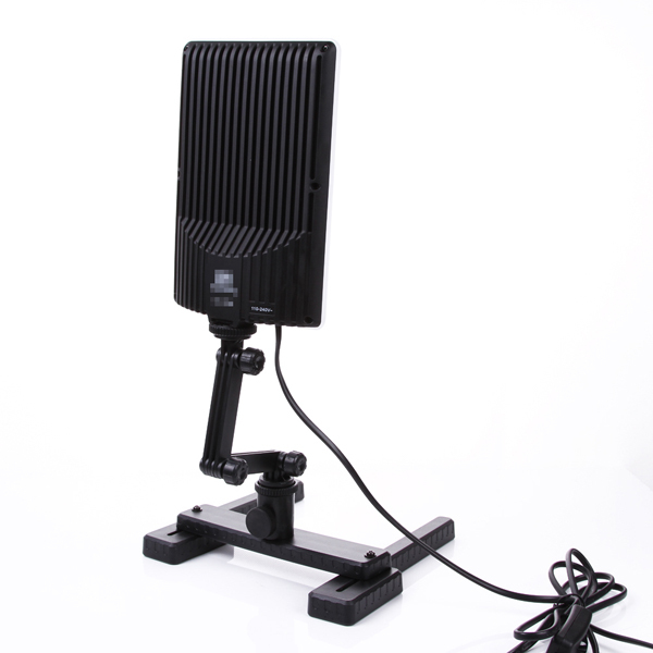 NanGuang LED Photo Light Lamp CN-T96 2 Kit 220V Photographic Lighting with Mini Shooting Table & Background Paper Kit