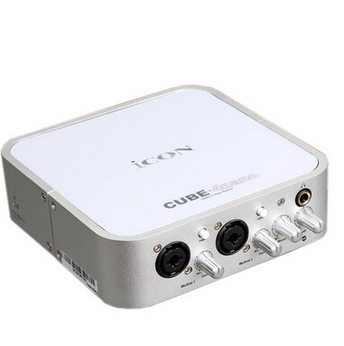 Icon Cube 2Nano VST 2-Out USB Recording Interface 1mic-In//1 guitar-In