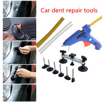 Car Dent Auto Repair Tool PDR Paintless Dent Tools Pulling Bridge Set Removal The Dents For