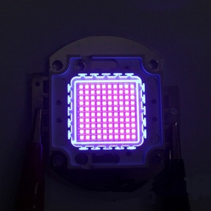Image 3 - מתח גבוה Led שבב 100 W סגול אולטרה סגול (UV 395 ~ 400nm) SMD COB אור 100 W אולטרה ויולט הנורה מנורה