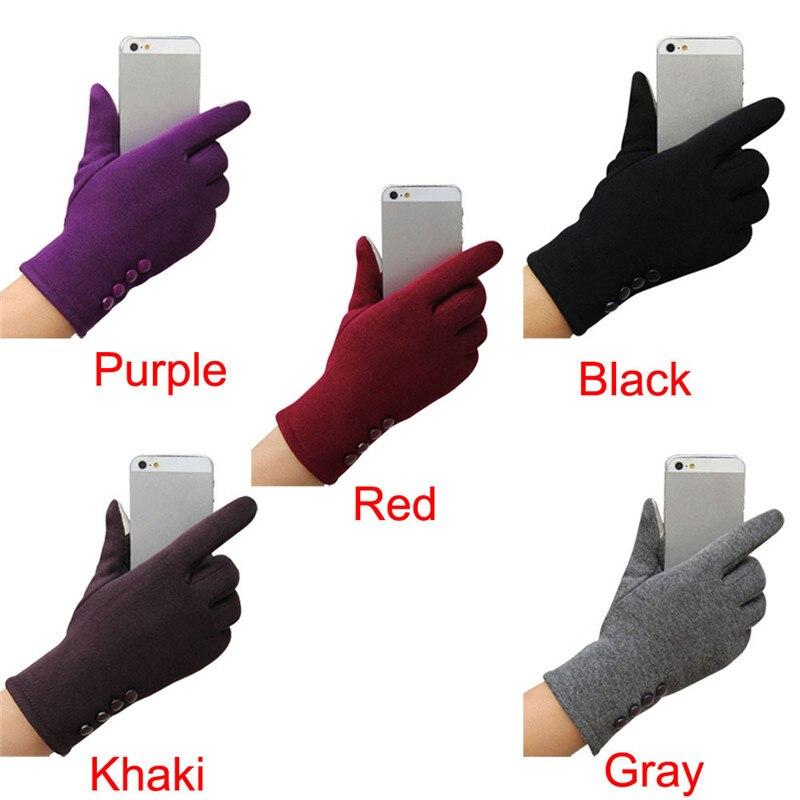 Femmes de mode D'hiver En Plein Air Sport gants chauds d'hiver gants gants guantes eldiven handschoenen 40FE14