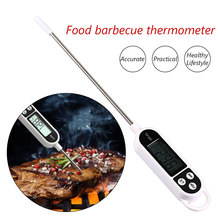 Barbecue Kitchen Digital Thermometer BBQ Food Stainless Steel Water Milk Tools for Home