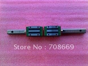 HIWIN Linear Guide HGR15 L=1100mm rail+2pcs HGH15 CA Narrow Type carriage цены