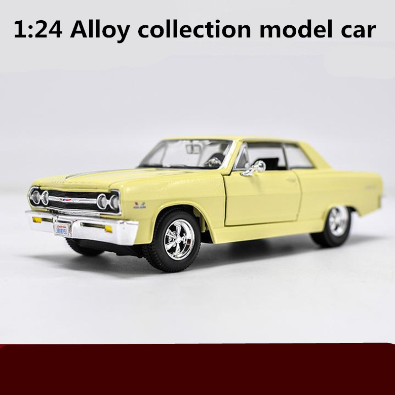 1:24 scale alloy car models,high simulation CHEVROLET MALIBU SS model,metal diecasts,4 open the door toy vehicles,free shipping