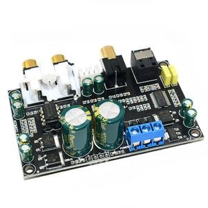 Image 2 - CS8416 CS4398 Dijital Arayüz DAC dekoder kurulu 24bit 192 K SPDIF koaksiyel Optik fiber AUX Amplifikatör TV