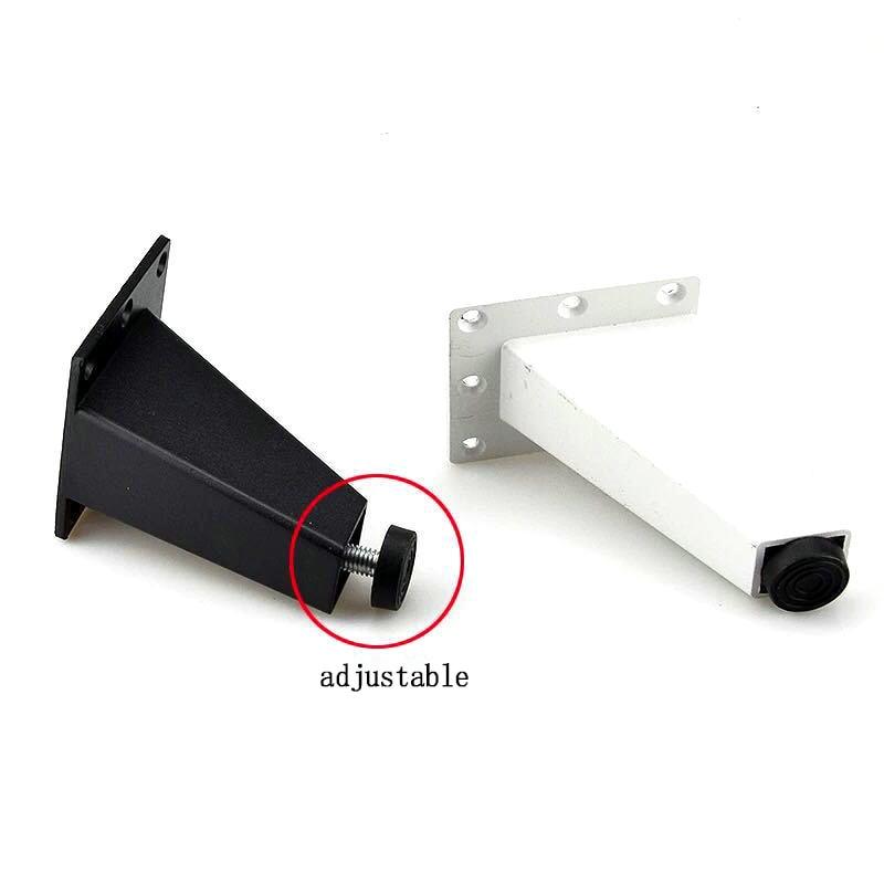 Furniture Table Legs Aluminum Alloy Cabinet Feet Office Furniture Foot TV Cabinet Coffee Table Sofa Oblique Feet