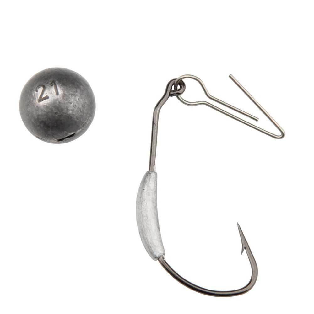 ตกปลาCheburashkaตะกั่วทำให้จมตกปลาอำนวยความสะดจิ๊กหัวตะกั่วกระสุนน้ำหนักนุ่มล่อเท็กซัสกลุ่ม2กรัม-21กรัมสำหรับเลือก